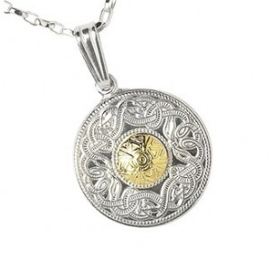 Celtic Warrior Pendant inspired by the Ardagh Chalice (Irish Celtic Jewels