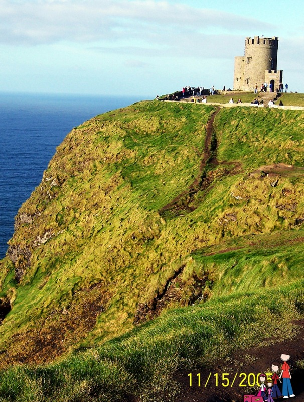 Cliffs of Moher, 2005