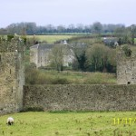 Kells Priory and the mill on King's River, County Kilkenny, Ireland