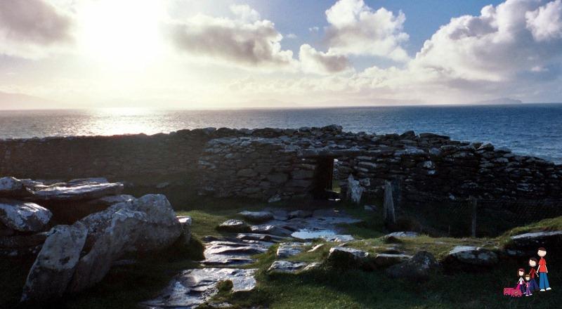 IronAge Dunbeg Fort, Dingle Peninsula, Ireland