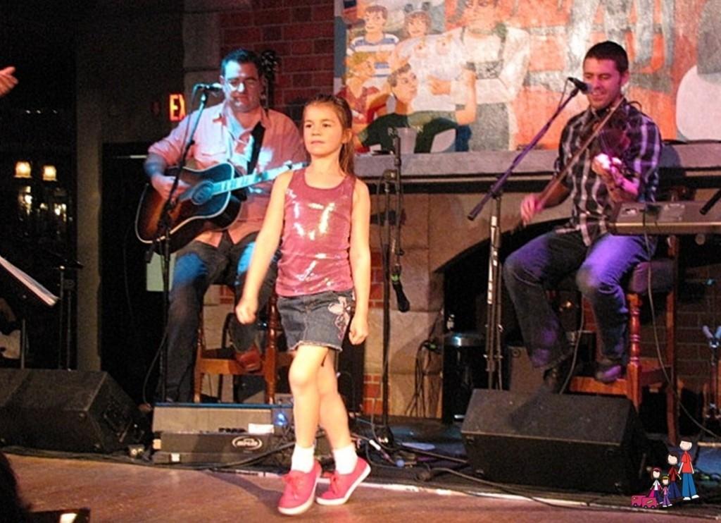 Brenna Dancing at Raglan Road in Orlando
