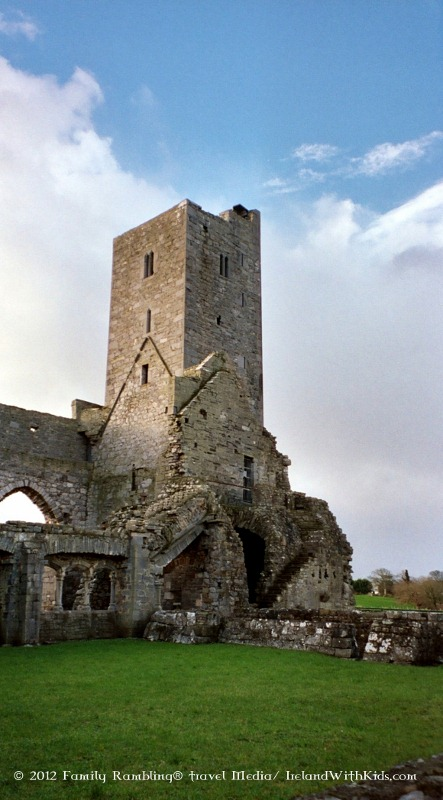 Ardfert Cathedral Ireland Tower at Ardfert Cathedral