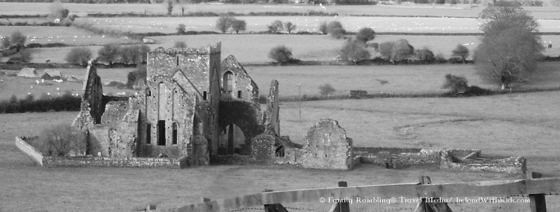 Hore Abbey viewed from the Rock of Cashel.