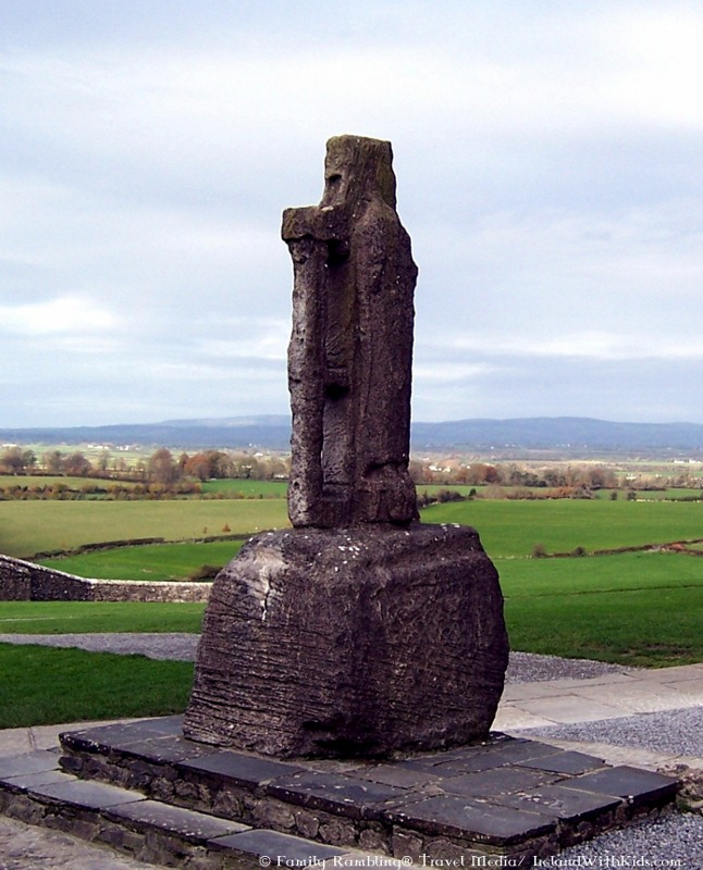 St Patrick's Cross at the Rock of Cashel, Ireland