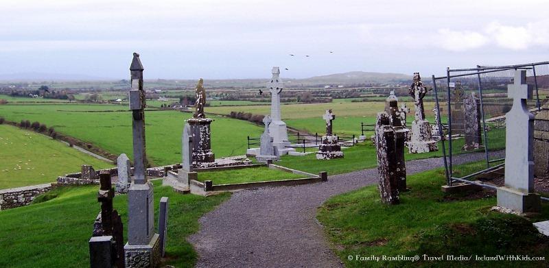Rock of Cashel Grave Stones