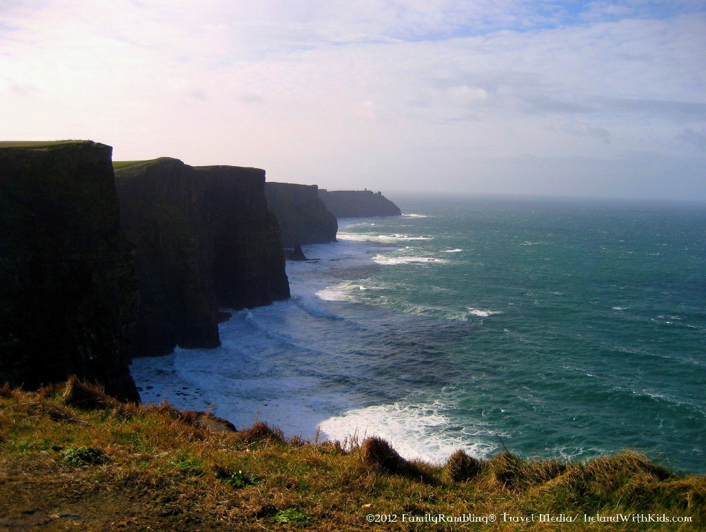 Cliffs of Moher after a Storm