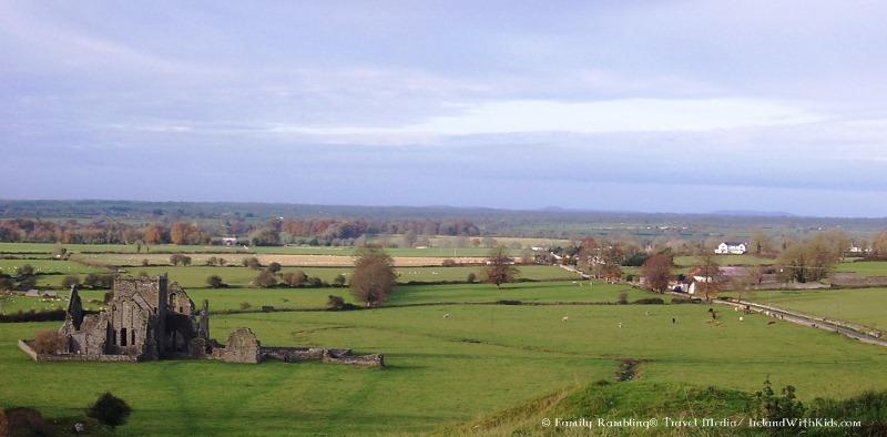 Hore Abbey from Rock of Cashel
