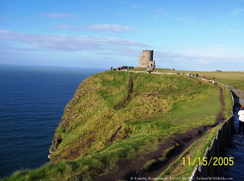 OBriensTower at the Cliffs of Moher