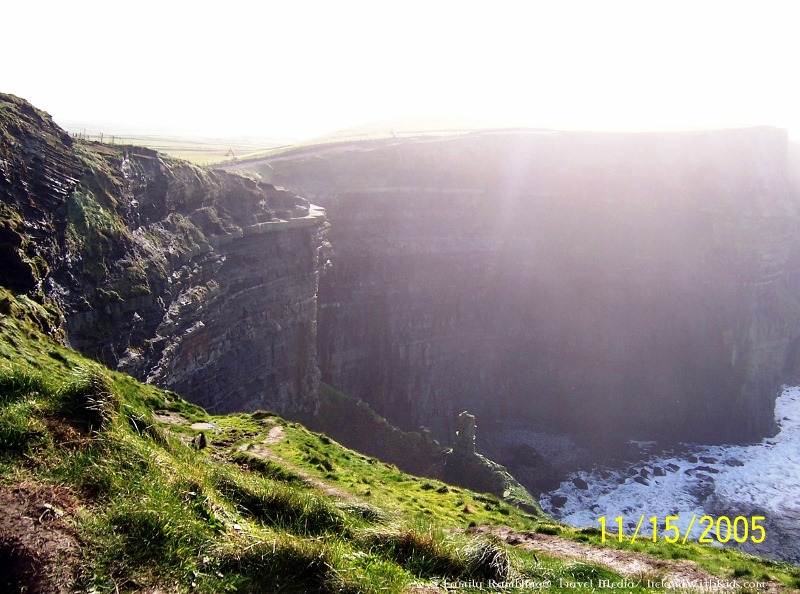 Sunny Day at the Cliffs of Moher