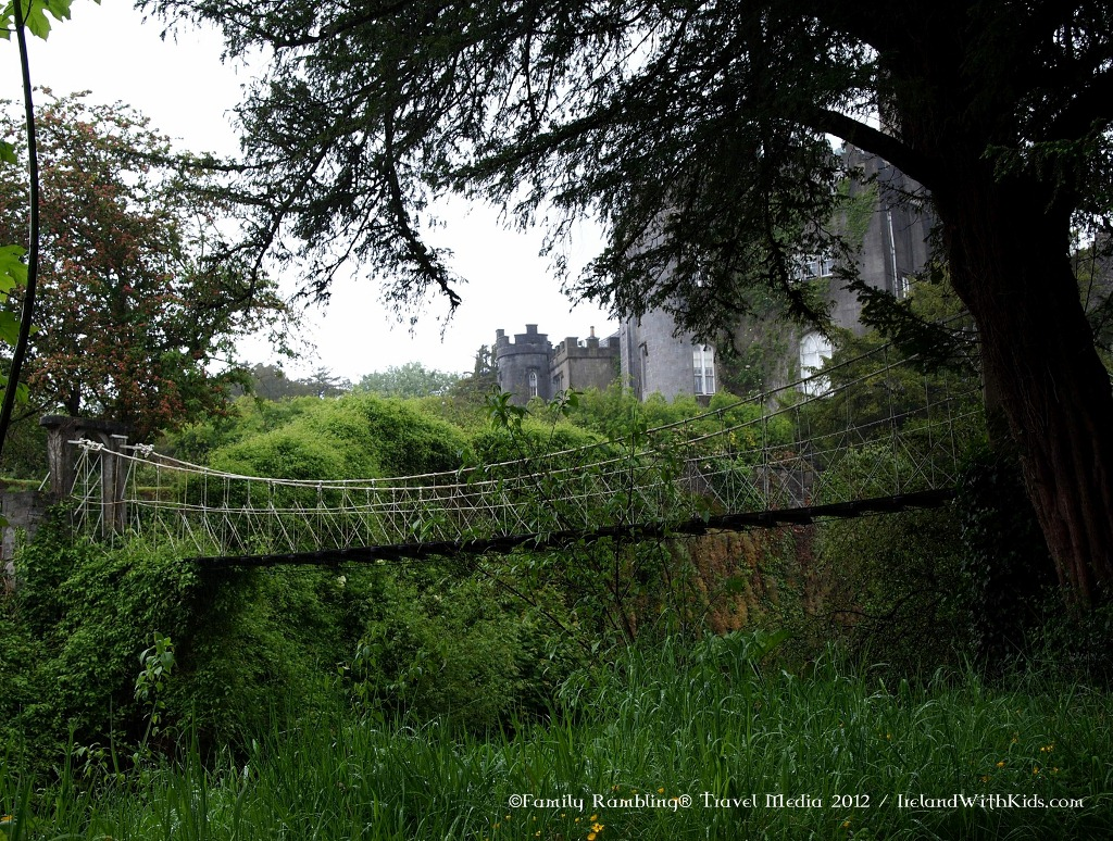 Suspension Bridge at Birr Castle, Ireland