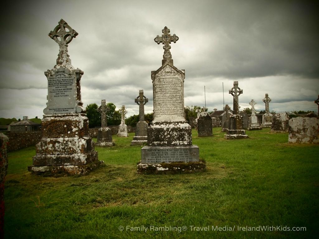 Cemetery Stones at Clonmacnoise, Ireland