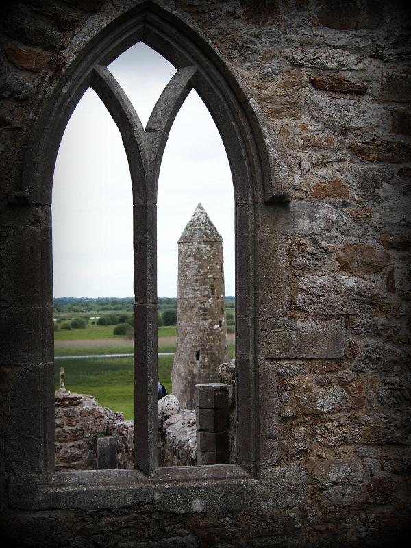 Round Tower at Clonmacnoise, Ireland