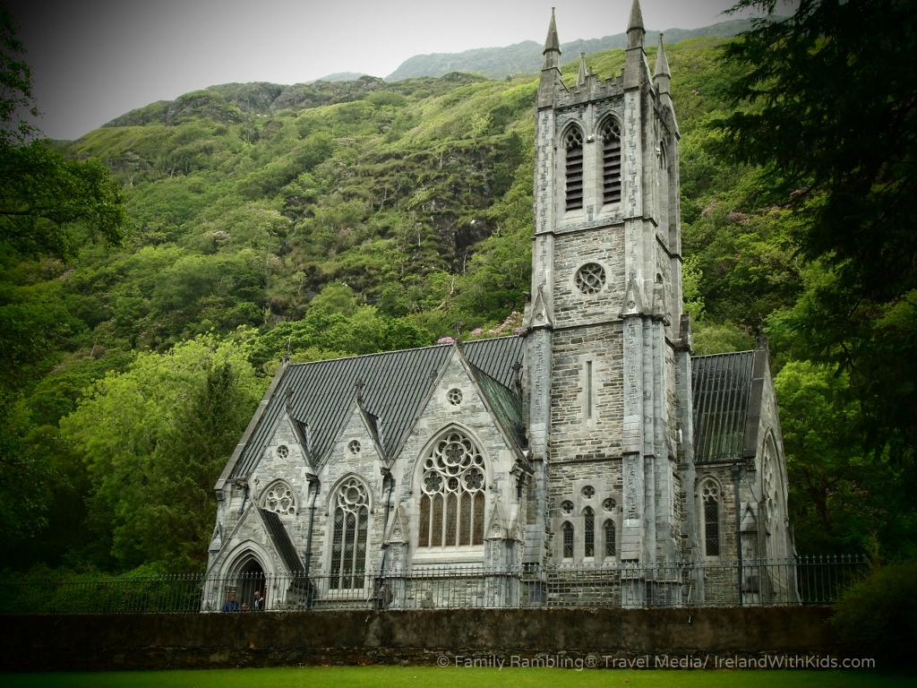 Gothic Church at Kylemore Abbey, Connemara, Ireland