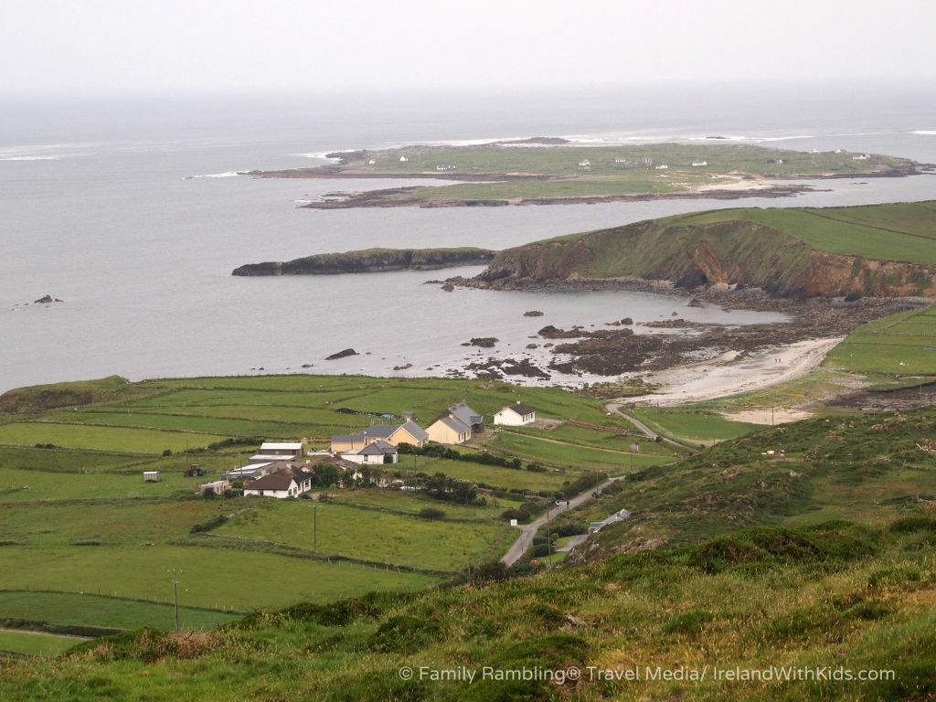View from the Sky Road, Clifden, Connemara, County Galway