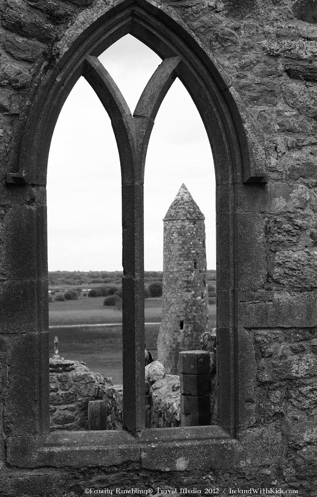 Round Tower at Clonmacnoise, County Offaly, Ireland