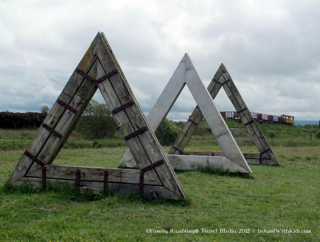 Sculptures Lough Boora Ireland 60 Degrees