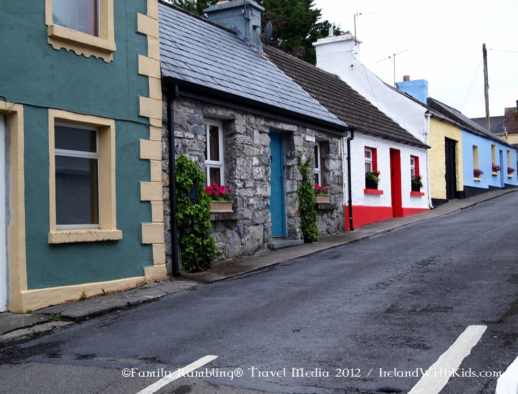 Row of Houses in Cong, Ireland