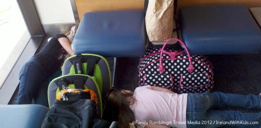 sleeping at Atlanta Airport