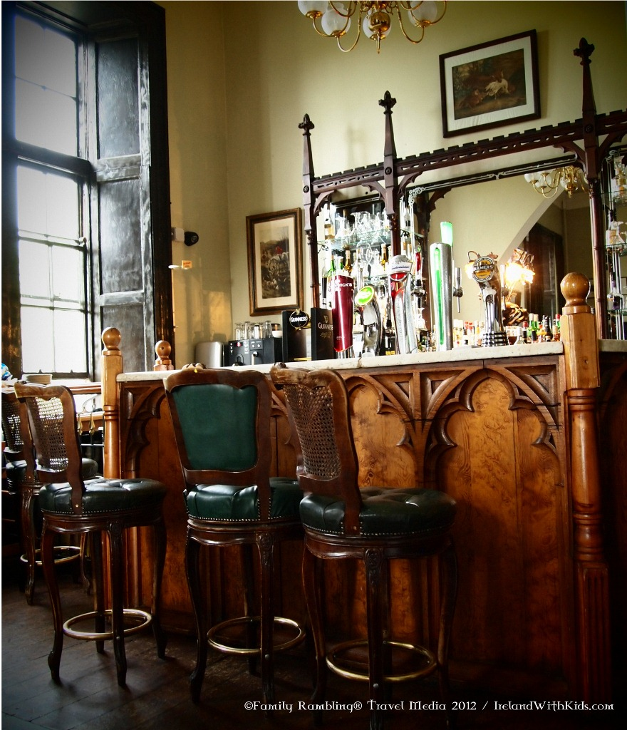 Library Bar at Kinnitty Castle hotel in County Offaly, Ireland