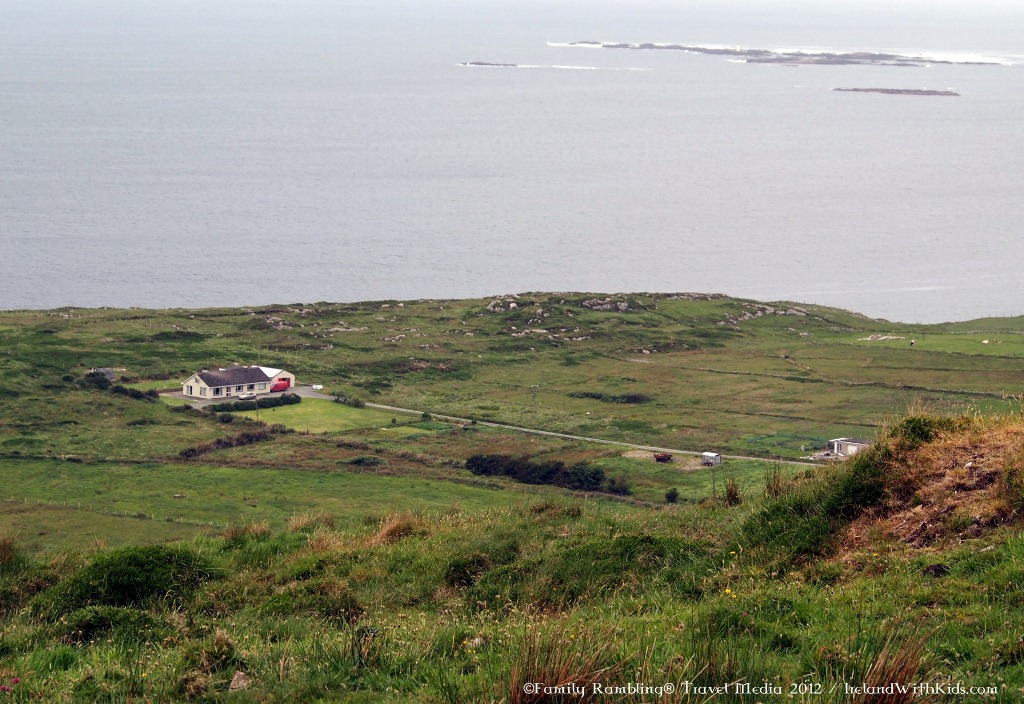 Irish house by the Atlantic Ocean in Clifden, Connemara