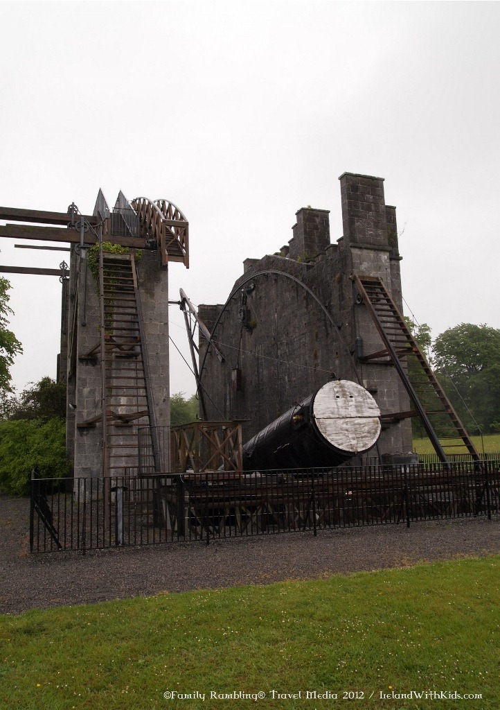 Largetst Telescope at Birr Castle, County Offaly, Ireland