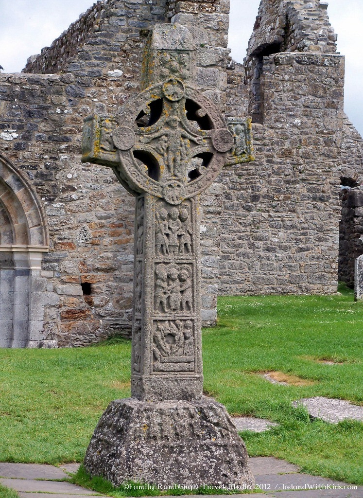 HIgh Cross at Clonmacnoise Monastic Settlement, Offaly, Ireland