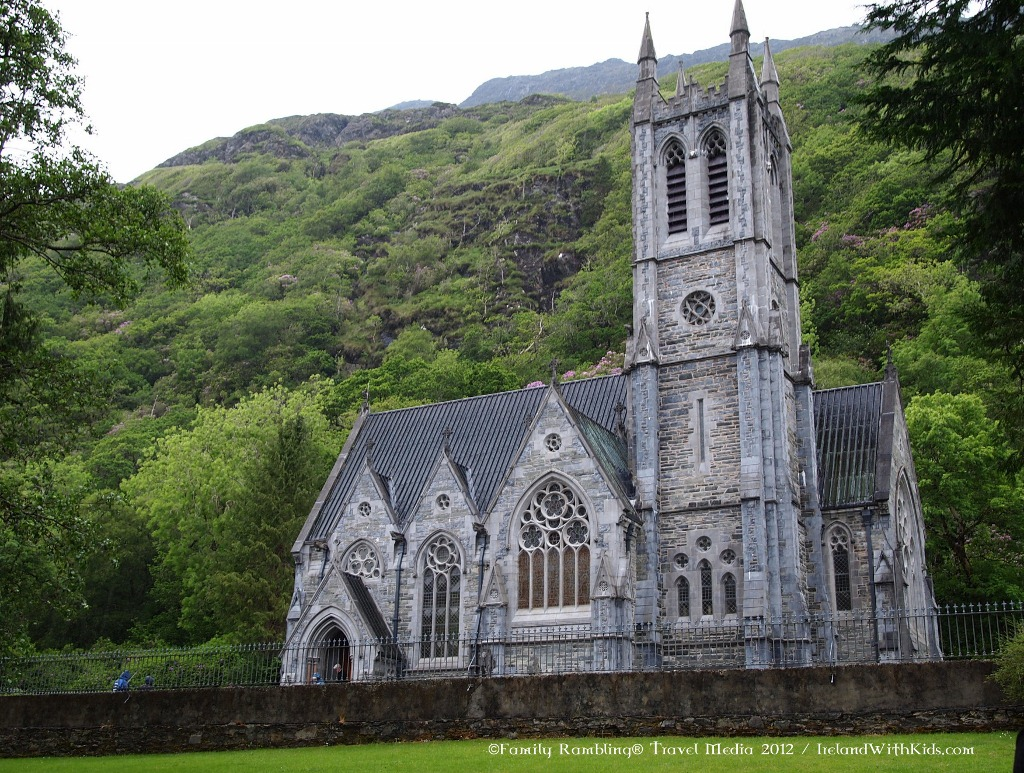 Kylemore Abbey Gothic Cathedral
