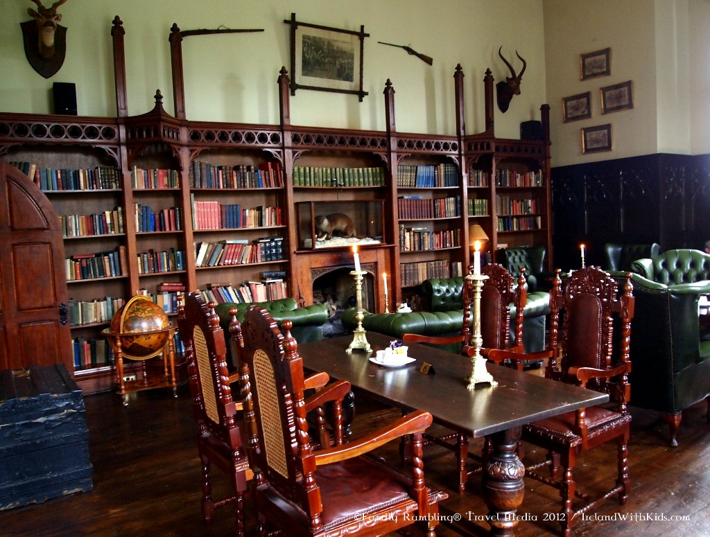 The Library Pub at Kinnitty Castle, Ireland