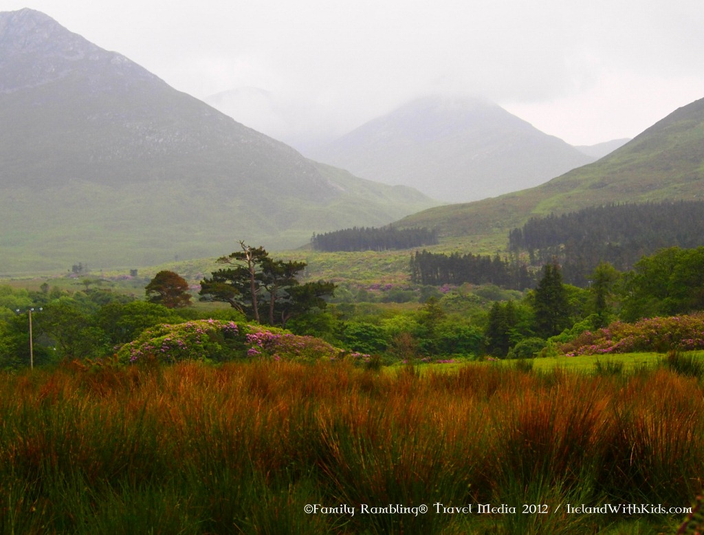 Diamond Hill in Connemara National Park, County Galway, Ireland