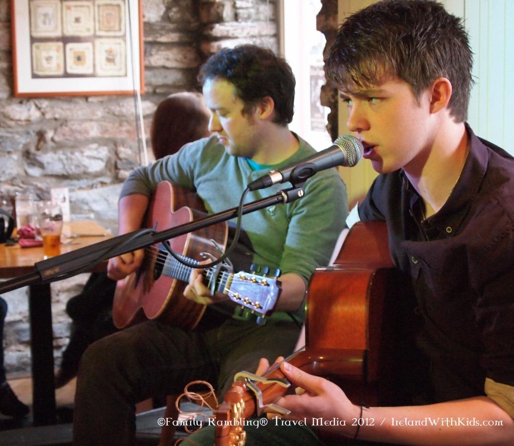 Live Music in Clifden, Ireland