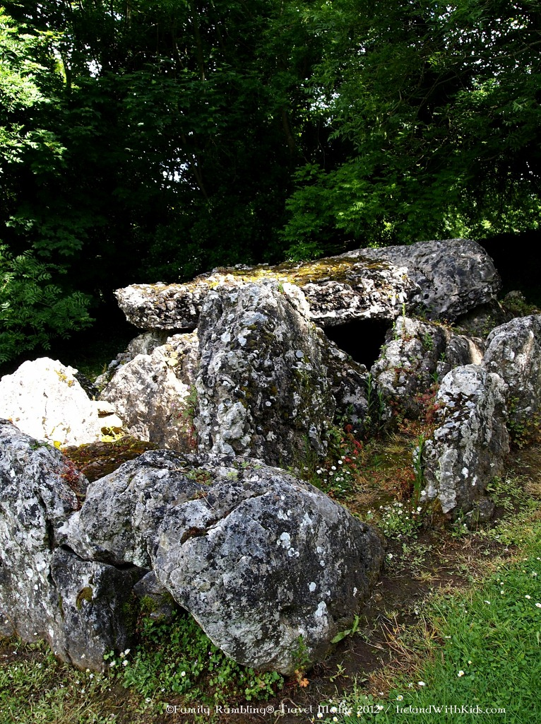 The Giants' Graves at Lough Gur, Ireland