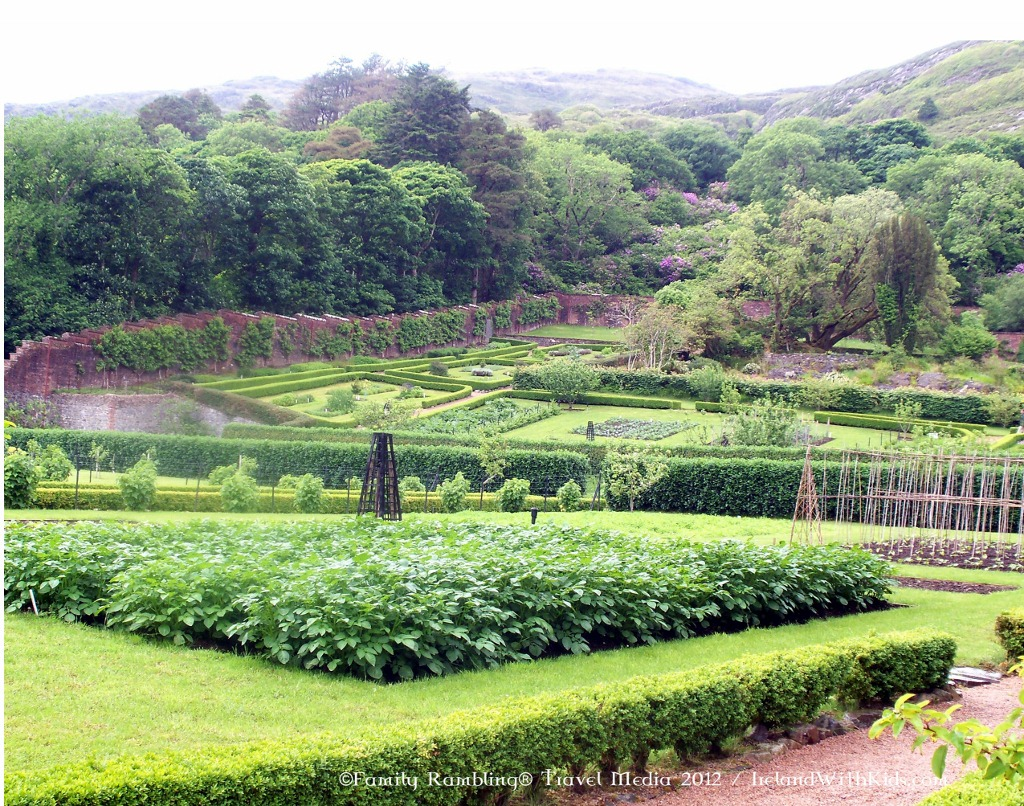 The Walled Garden at Kylemore Abbey