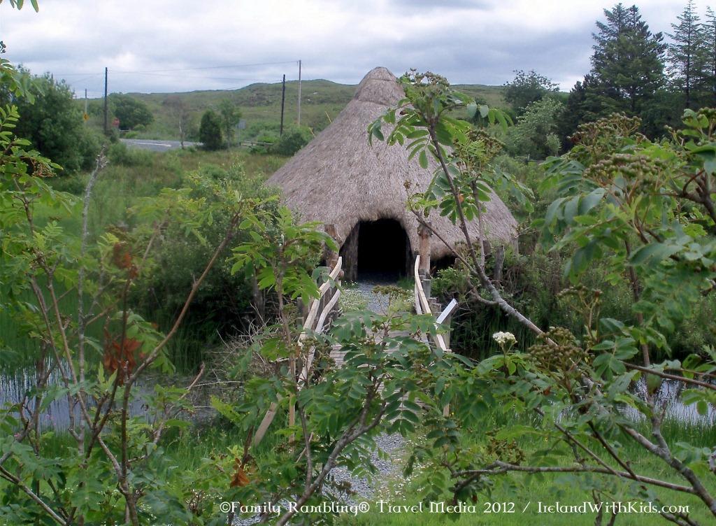 Crannog, Ireland Hut, Dan O'Hara's Historical Park
