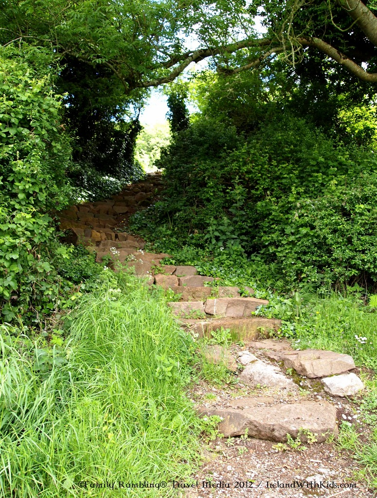Path to Hangman's Rock at Lough Gur, County Limerick, Ireland
