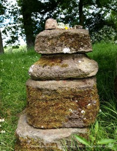 Modern Offerings at the grange Stone Circle near Lough Gur, Ireland