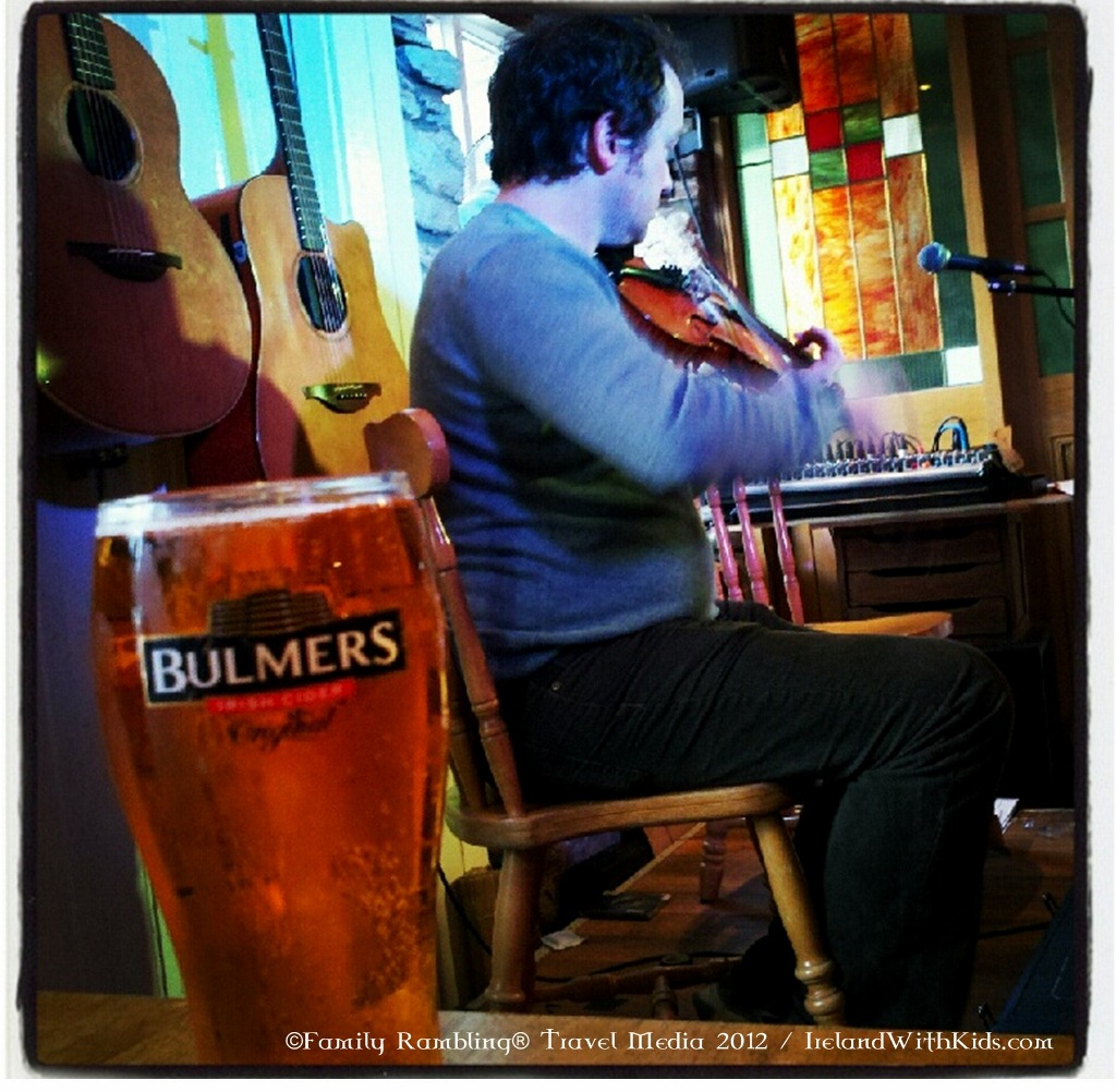Bulmers and Live Music in Ireland