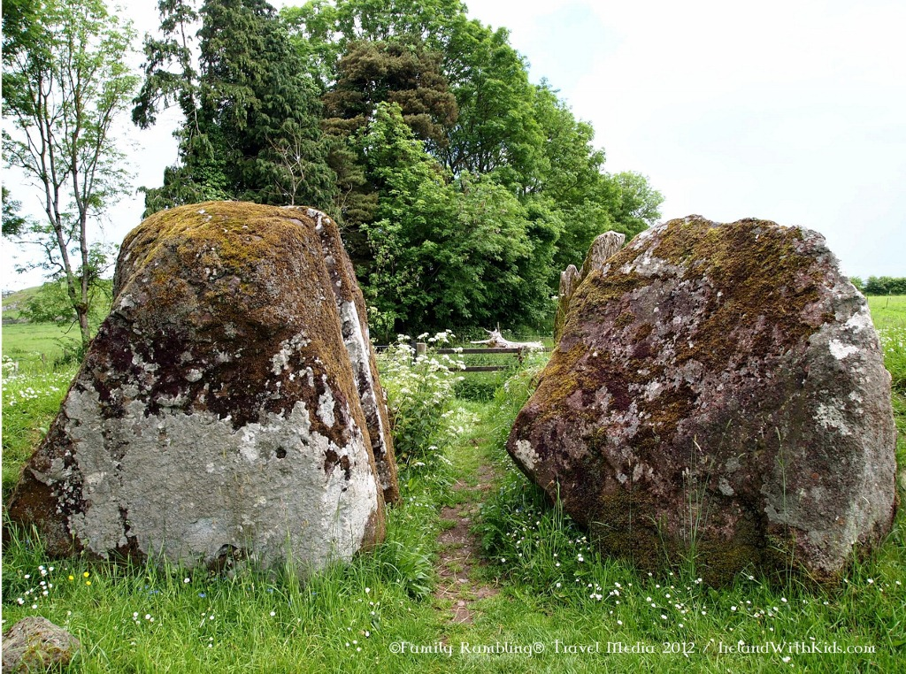 Entry stones at Grange Stone Circle, Limerick, Ireland