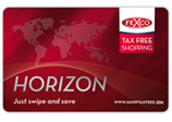 Horizon Tax Free Shopping card Ireland