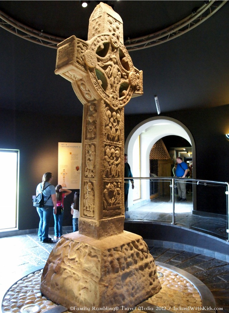 Ireland High Cross, Clonmacnoise, County Offaly