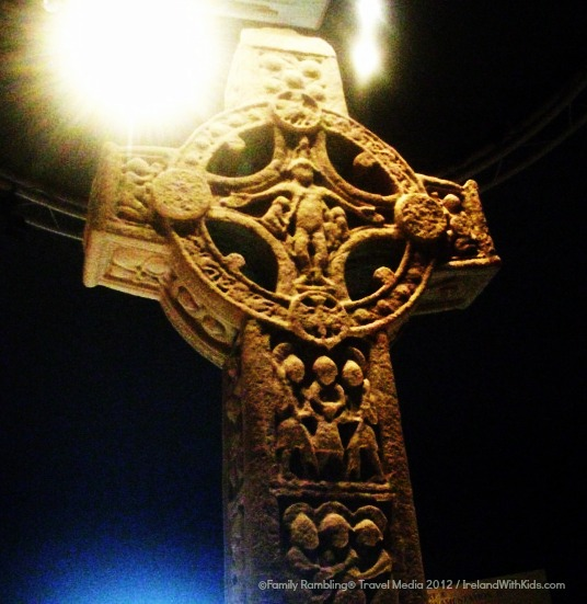 High Cross at Clonmacnoise in County Offaly, Ireland