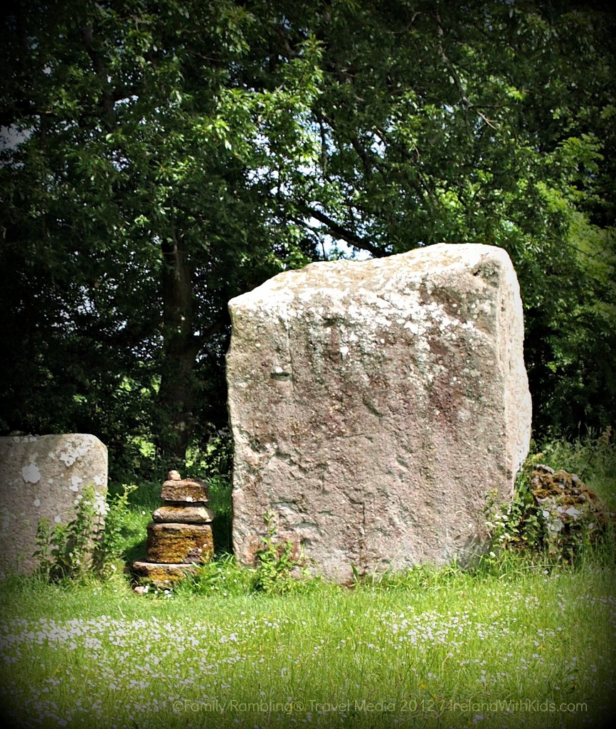 Largest Stone in the Grange Stone Circle near Lough Gur, County Limerick, Ireland