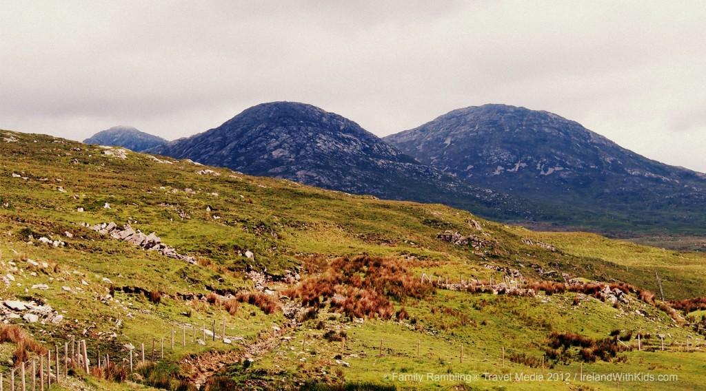 Connemara Marble, 12 Bens Mountains, County Galway, Ireland