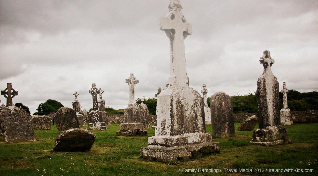 Clonmacnoise Monastic Settlement Cemetery Stones