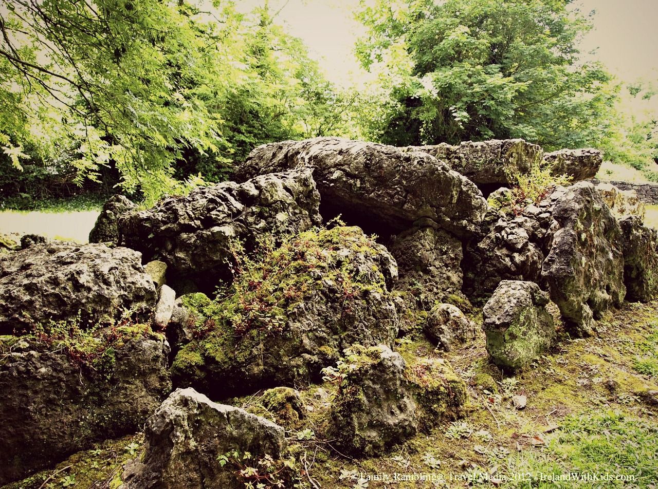The Giant's Grave at Lough Gur, megalithic tomb, County Limerick, Ireland