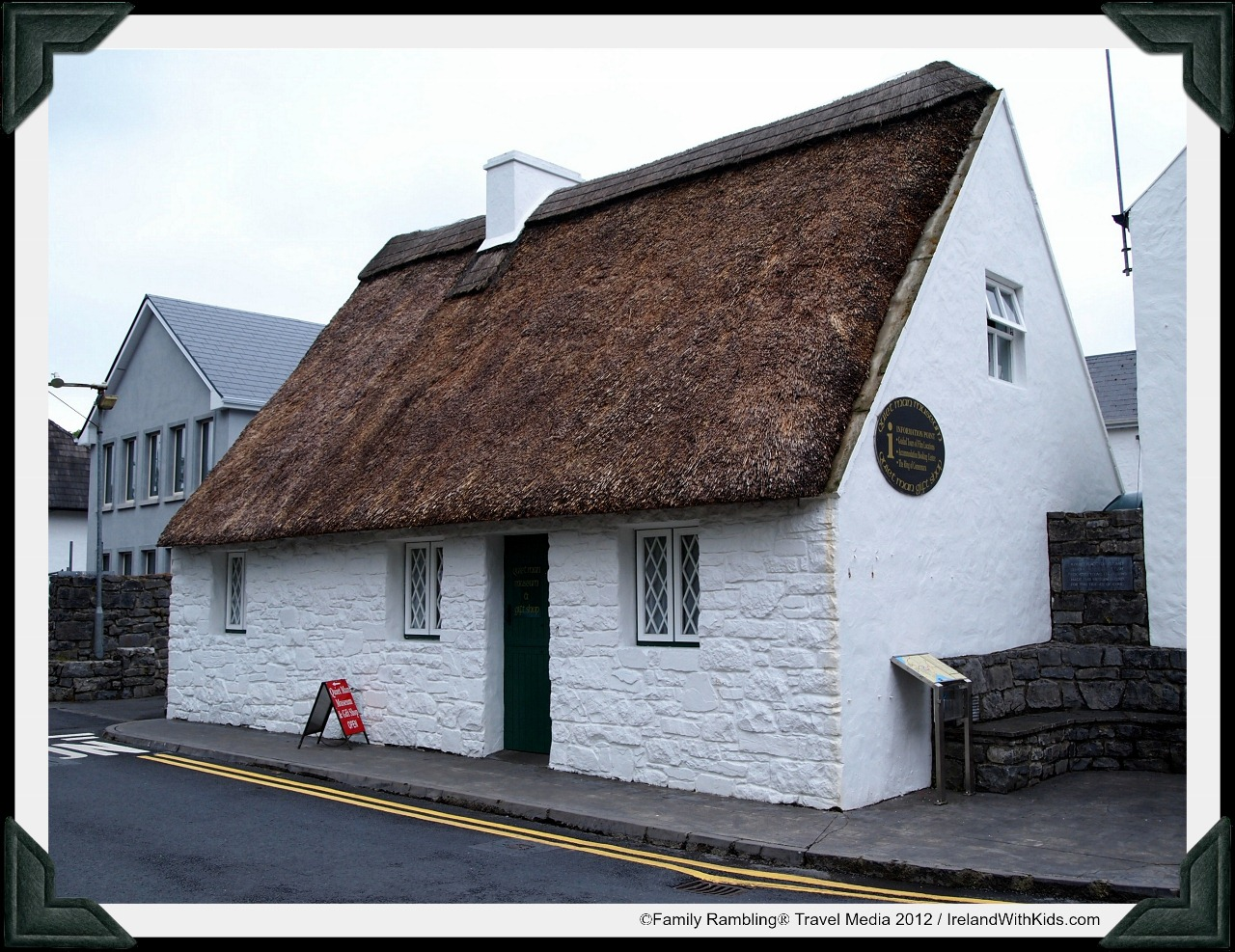 White O Morn Replica Cottage in Cong, Ireland; The Quiet Man