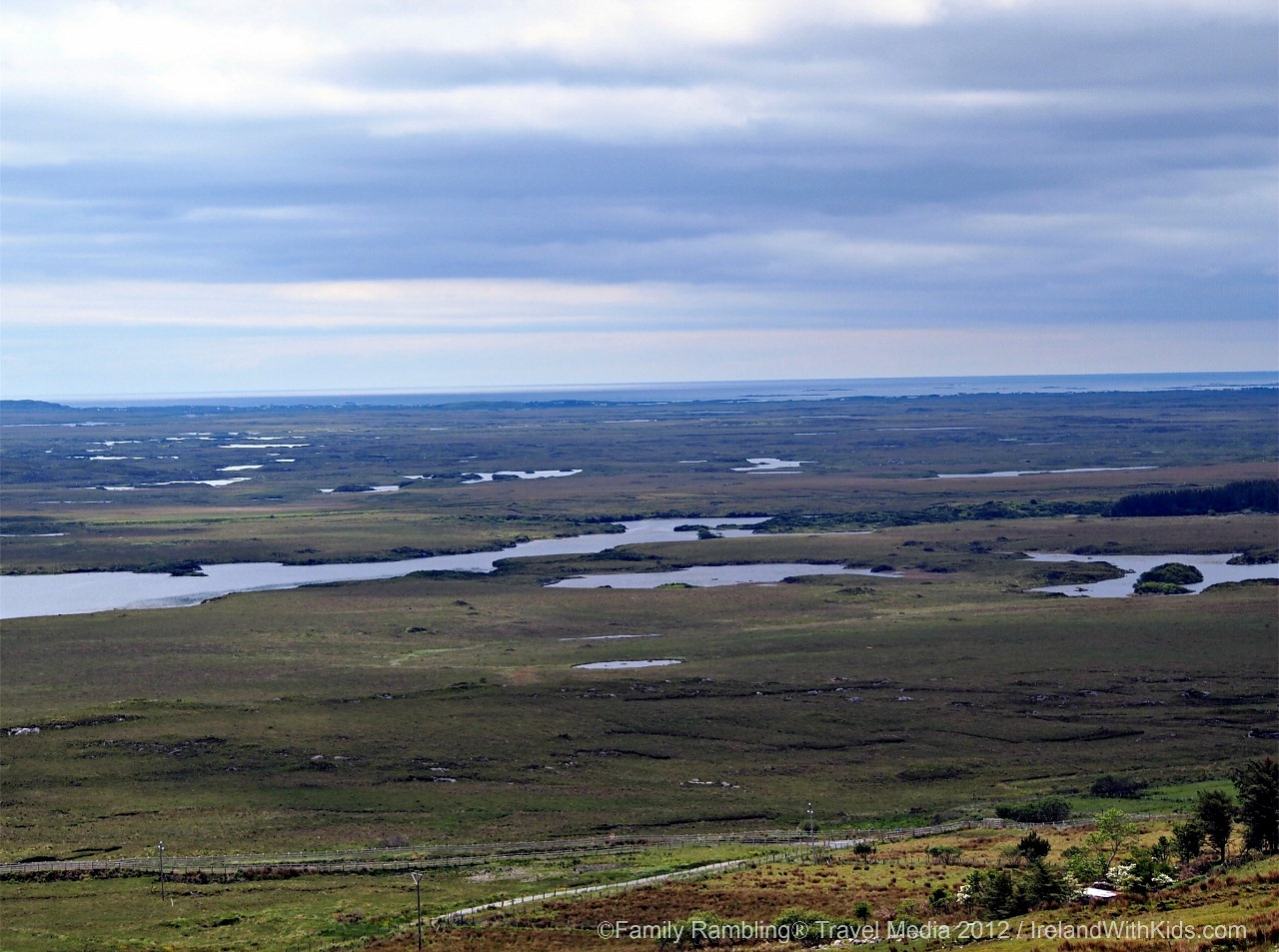 Protected Peat Bogs in Connemara, Ireland
