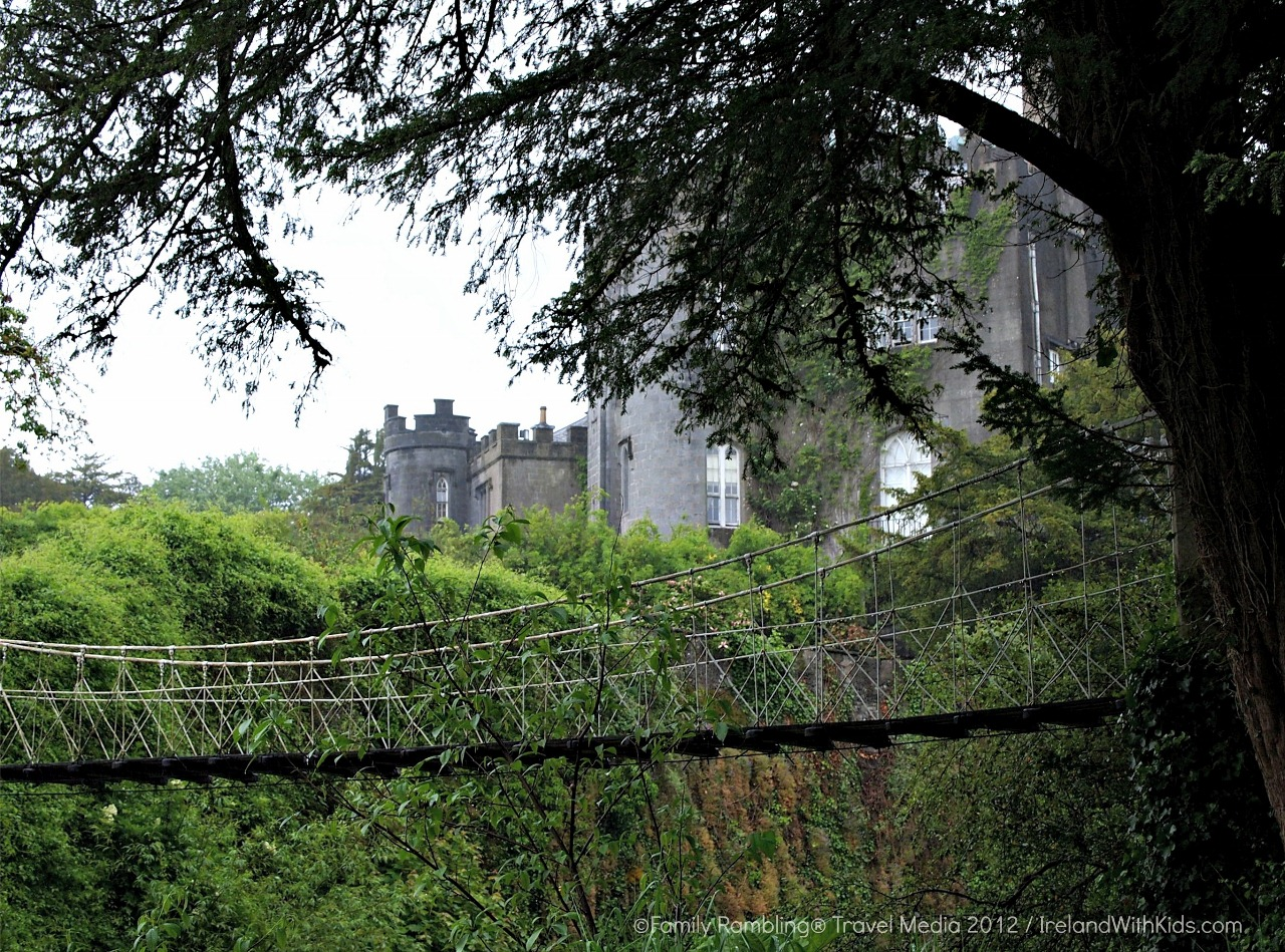 Birr Castle viewed from across the River Camcor