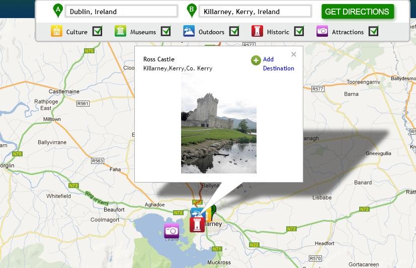 My Discover Ireland Travel Tool