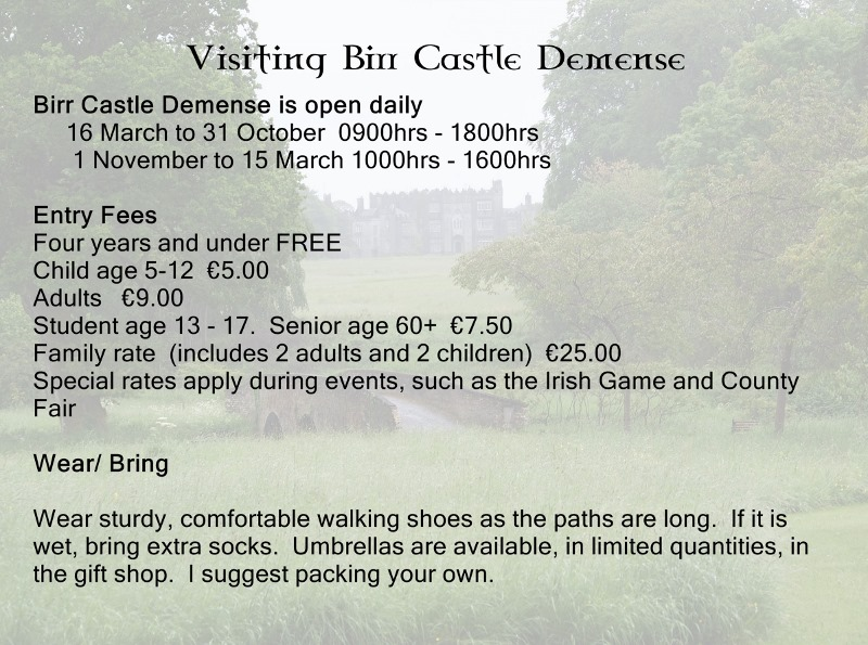 Visiting Birr Castle in Ireland