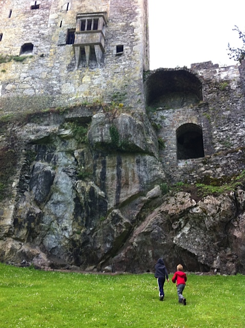 Badgers cave at Blarney Castle